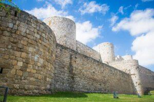 Burgos Castle with beautiful views