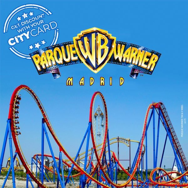 "<span style=""color:red;"">40% discount on entry fee</span><br>Parque Warner: Experience Madrid's best theme park!"