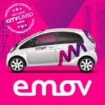 "<span style=""color:red;"">Save 9€ on registration fee & get 8€ credit voucher</span><br />Emov: Car sharing at discount!"