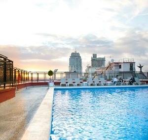 Hotel Emperador Madrid Pool