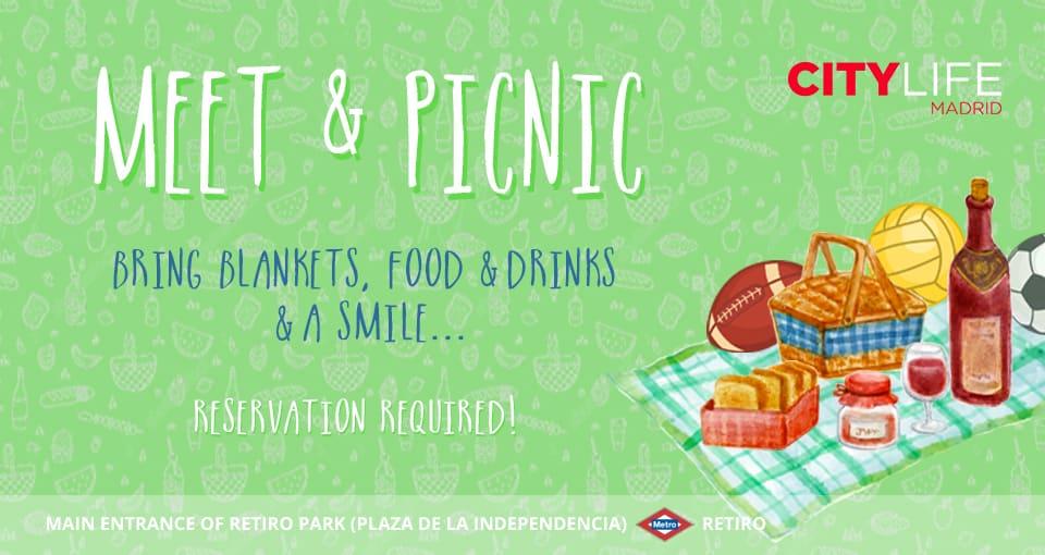 Meet & Picnic: An Afternoon in Retiro Park