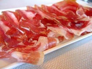 plate jamon
