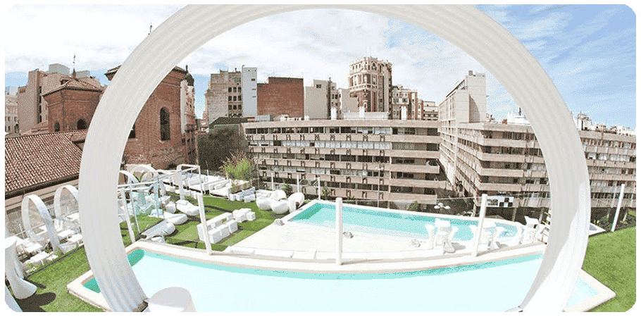 4 amazing rooftop pools in madrid 39 s city centre citylife - Garden center madrid ...