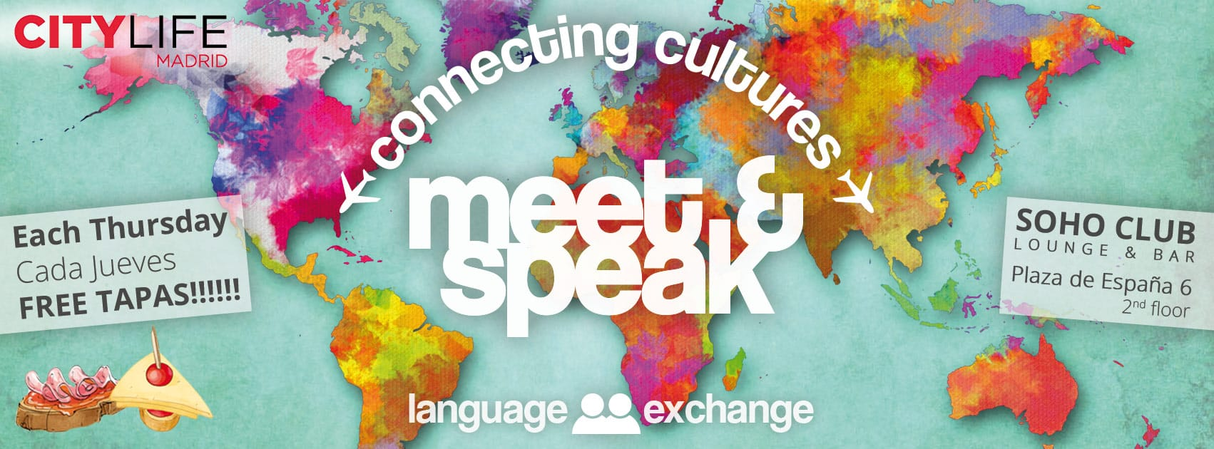 MEET & SPEAK - Connecting Cultures!