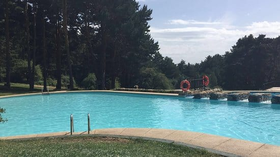 Natural fresh water pools in the madrid region for Piscinas cercedilla