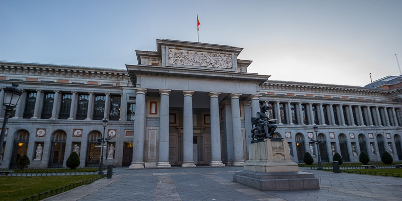 The Prado Museum in Madrid