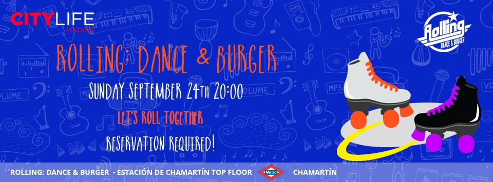 Rolling: Dance & Burger: Indoor Disco Inline Skating for free!