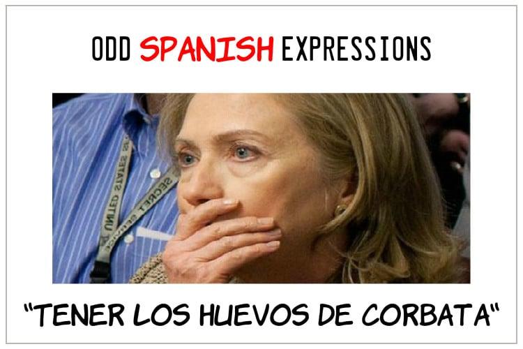 spanish expressions huevos