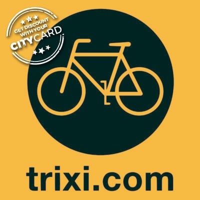 "<span style=""color:red;"">20% discount on bike rental & daily bike tours</span><br />Trixi: A different way of discovering the city!"